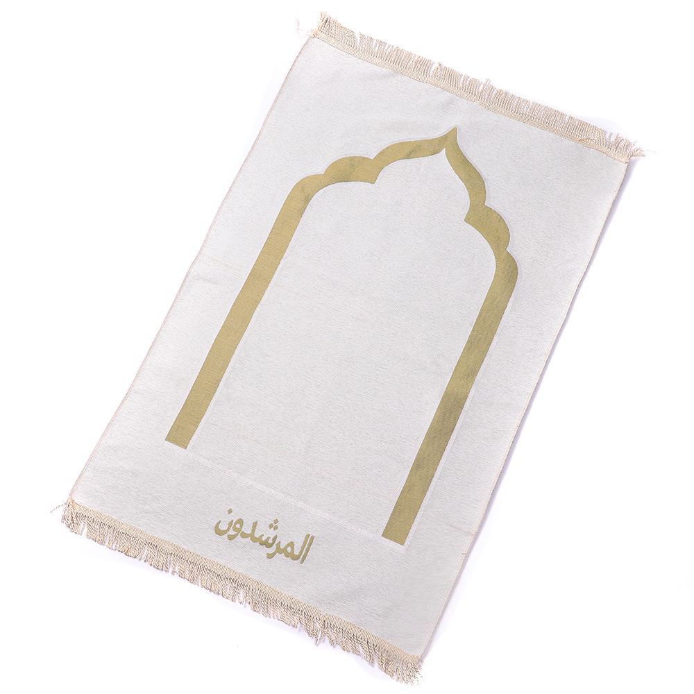 Islamic Muslim Prayer Mat Salat Islam Musallah Prayer Rug Tapis Carpet Tapete Banheiro Islamic Praying Mat With Tassel Decor