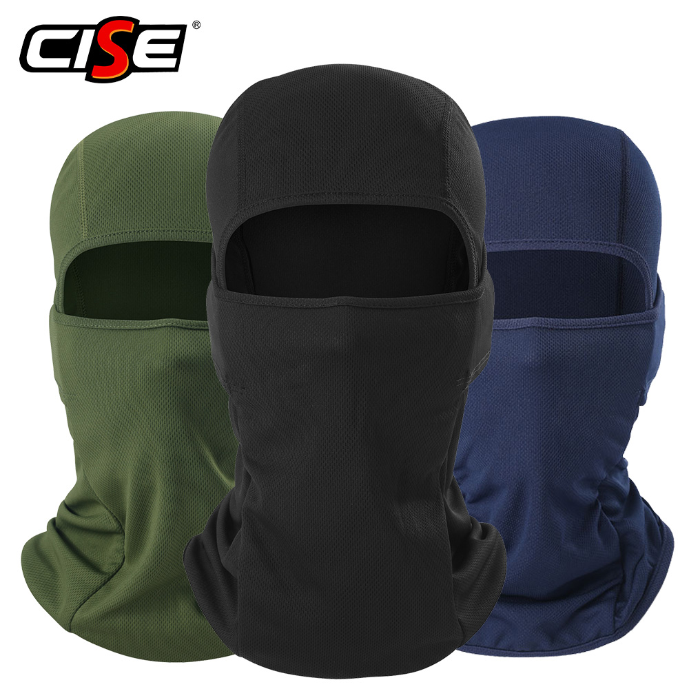 Motorcycle Balaclava Full Face Mask Warmer Windproof Breathable Airsoft Paintball Cycling Ski Biker Shield Anti-UV Men Helmet