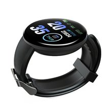 BT4.0 Smart Watch HeartRate Fitness Tracker Waterproof Bracelet 1.3 inch TFT color screen