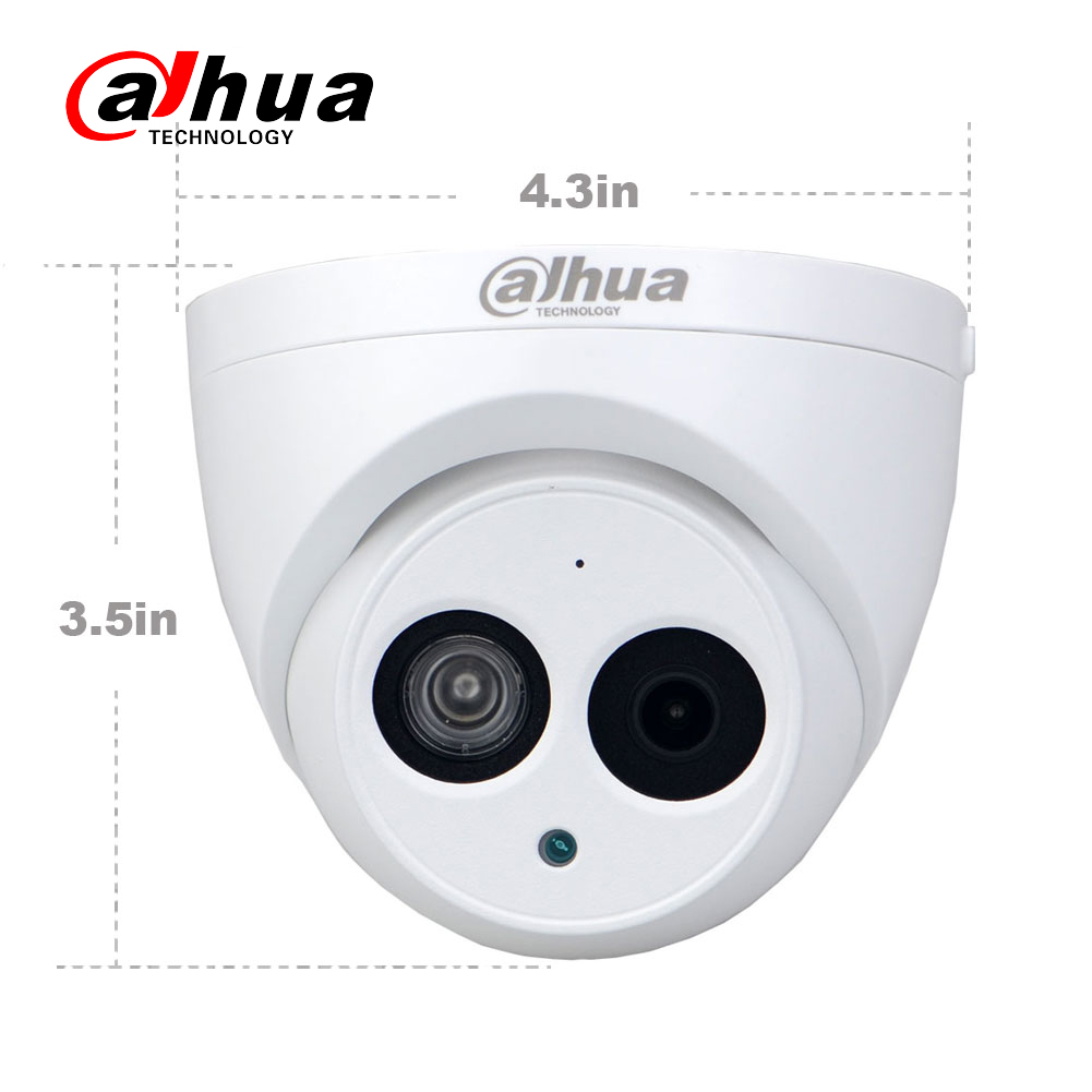 Image 4 - Wholesale Dahua IPC HDW4433C A 4PCS POE Network Mini Dome Camera With Built in Micro 4MP CCTV Camera 4pcs/Lot For CCTV System-in Surveillance Cameras from Security & Protection