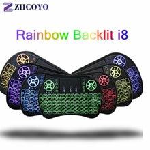 Беспроводная клавиатура ziicoyo i8 русская английская Иврит