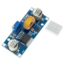 5A DC-DC Step Down Adjustable Power Supply Module Lithium Charger XL4015 4~38V 96% 5A DC adjustable step-down module 4015
