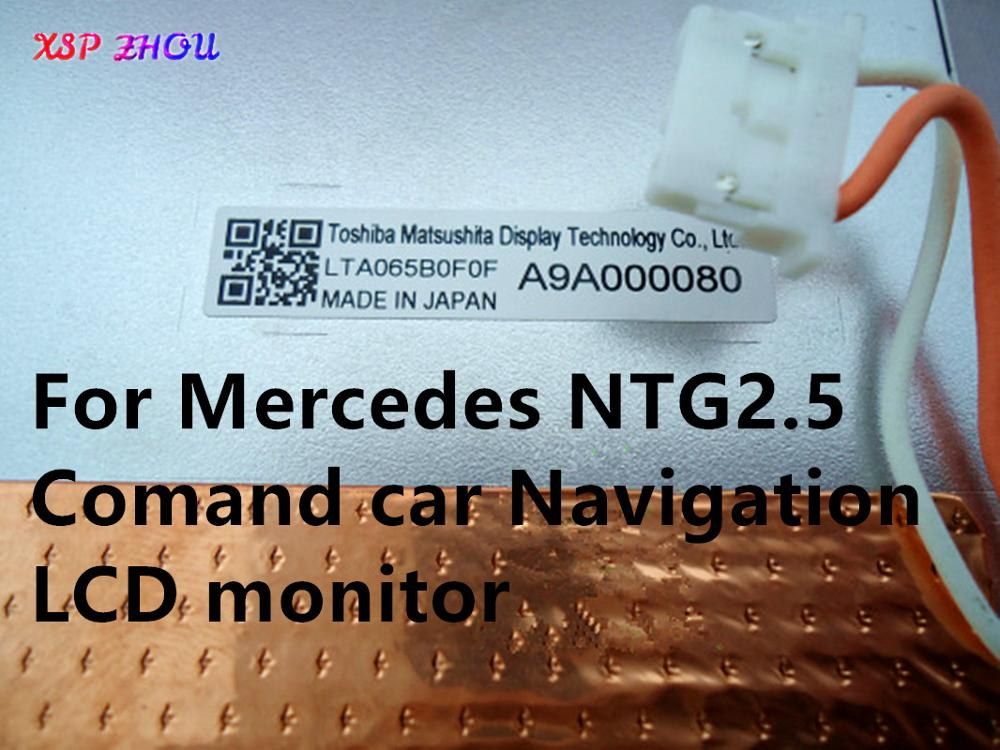 Brand New 6.5Inch LCD Display LTA065B0F0F LT065CA45300 LT065AB3D300 Screen For Mercedes NTG2.5 Comand Car Navigation LCD Monitor