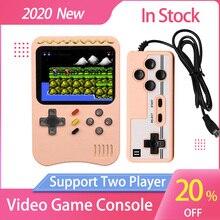携帯ゲームコンソールレトロビデオ8ビットゲームコンソールとコントローラポータブルミニアーケードダブルプレーヤー子供のギフト