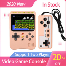 Handheld Games Console Retro Video 8 Bit Game Console With Controller  Portable Mini Arcade Double Players Childrens Gifts
