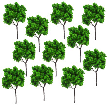 50PCS 9CM architectural model making building material outdoor,Architectural tree,Scale Train Layout Set Model Trees