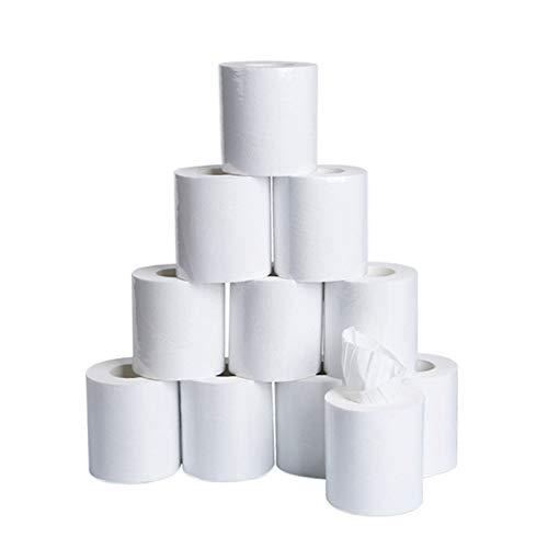 4/6/10 Rolls Toilet Paper 3-Layer Towel Household White Soft Bulk Rolls Bathroom Tissue Home Bulk Supplies