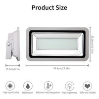 500W LED Outdoor Floodlight SMD Outdoor Lamp Cool White Super Bright Energy Saving IP65 Waterproof Cool White