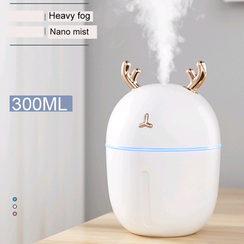 Humidifier Household Bedroom Small Mini Air Fragrance Purification Sprayer Water Replenishing Instrument USB Air-conditioned Roo image