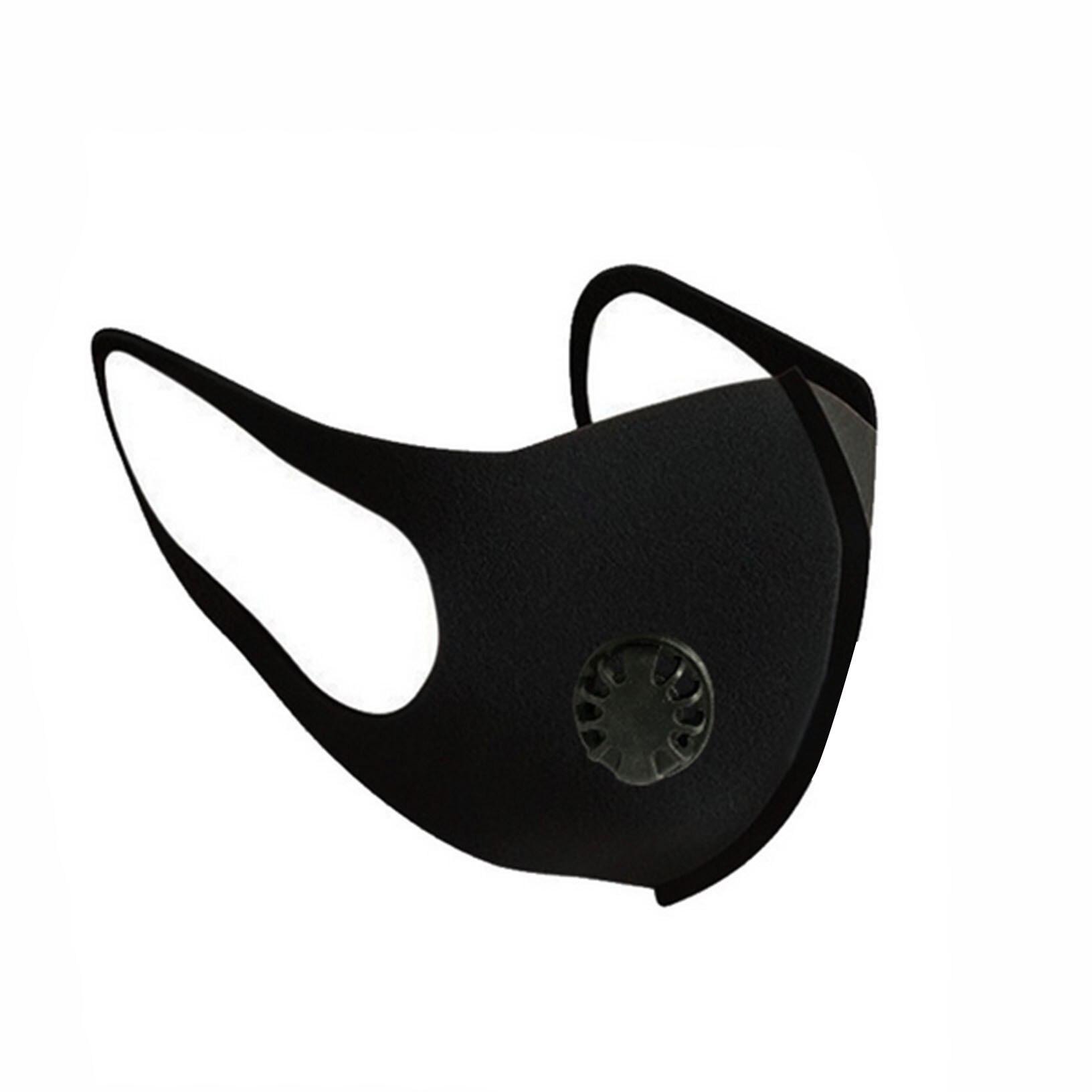 Outdoor Anti Smoke Dust Air Purifying Face Mask Unisex Single Valve