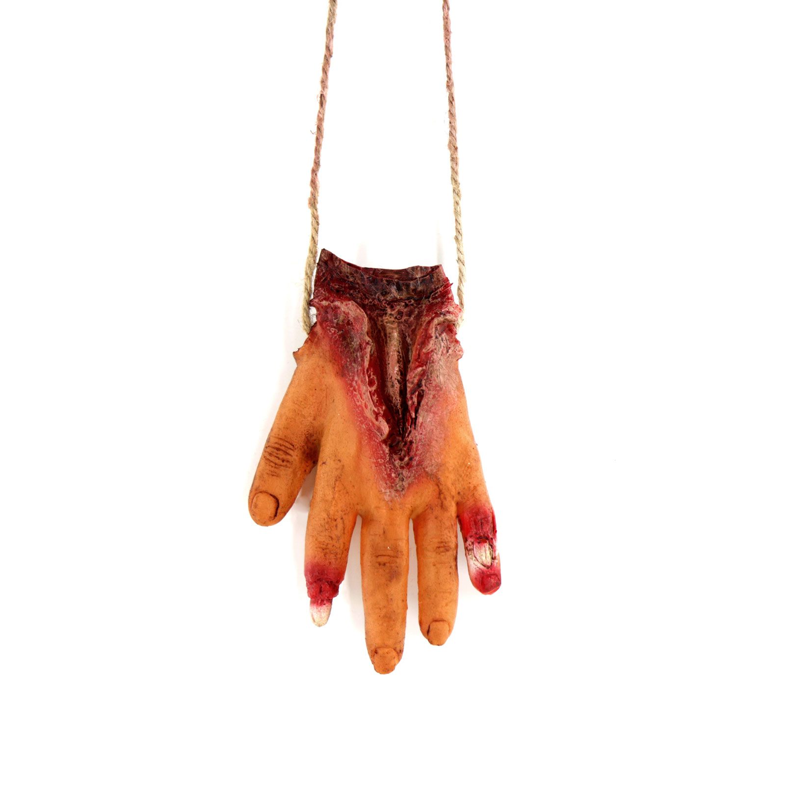 Image 4 - Halloween Decoration Props Horror Realistic Broken Hand Broken Chain Hanging Chain Props Eyeball Broken Hand Party Supplies-in Party DIY Decorations from Home & Garden