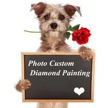 5D Diamond Painting Photos Custom Full Square Cross Stitch Rhinestone Embroidery Broderie Diamant