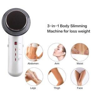 Image 3 - Ultrasonido cavitación EMS cara Cuerpo Adelgazante masajeador pérdida de peso anticelulítico galvánico infrarrojo quemador de grasa terapia ultrasónica
