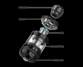 Aspire Guroo – atomiseur Original de 4ml, premier réservoir à vapeur à fixer et à tirer au monde avec bobines de 0.15/0.3 mailles, réservoir pour cigarettes électroniques