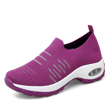 Women Shoes Flat Casual Non-slip Platform Sneakers For Women Breathable Mesh Sock Lady Shoes Outdoor Walking Woman Sneakers crystal sneakers women sneakers with crystals women sock sneakers fashion sneakers women boots sneakers women wk85
