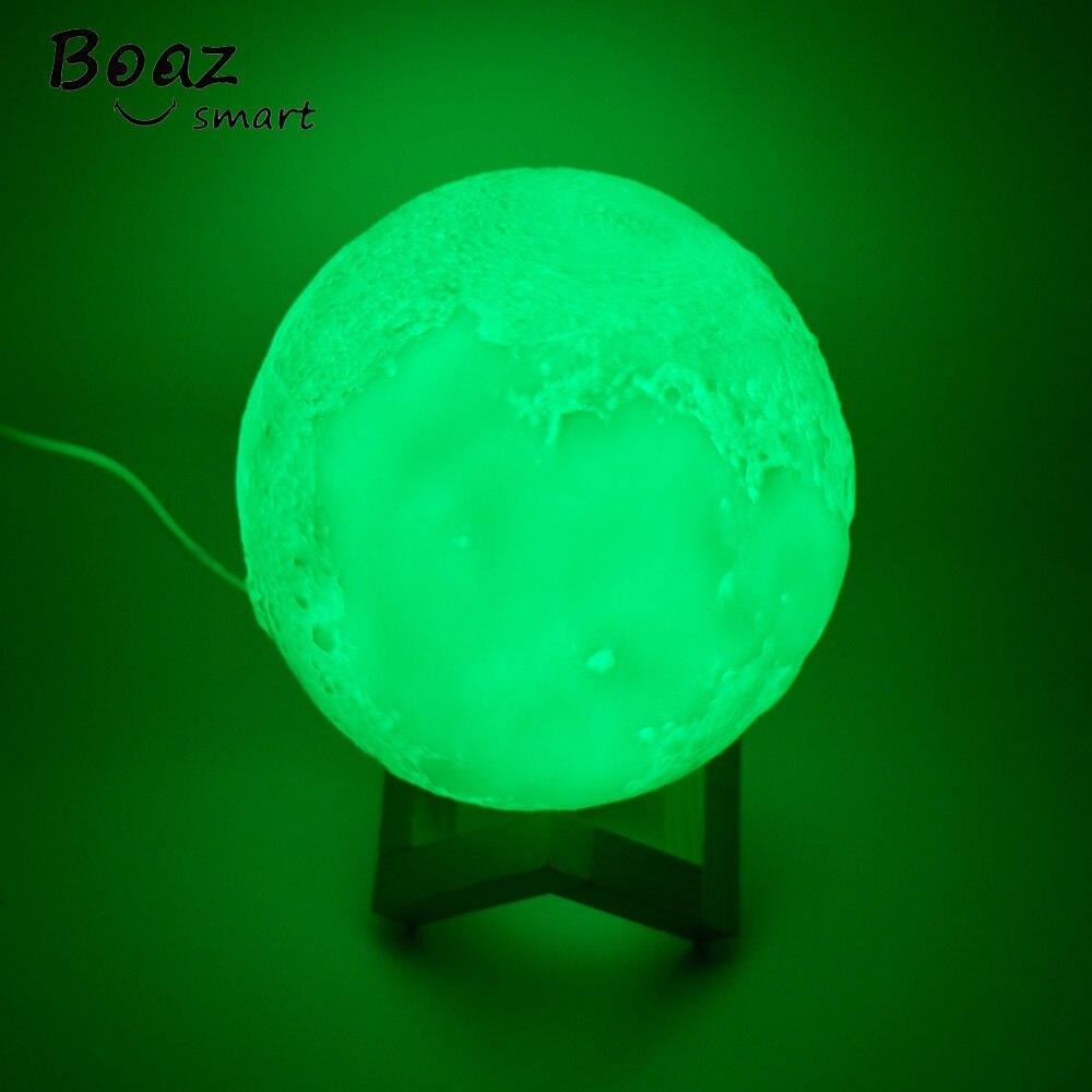 Boaz Smart Wifi Moonlight Remote Control Moonlight Voice Control Dimmable RGBW Amazon Alexa Echo Google Home IFTTT Tuya Smart in Novelty Lighting from Lights Lighting
