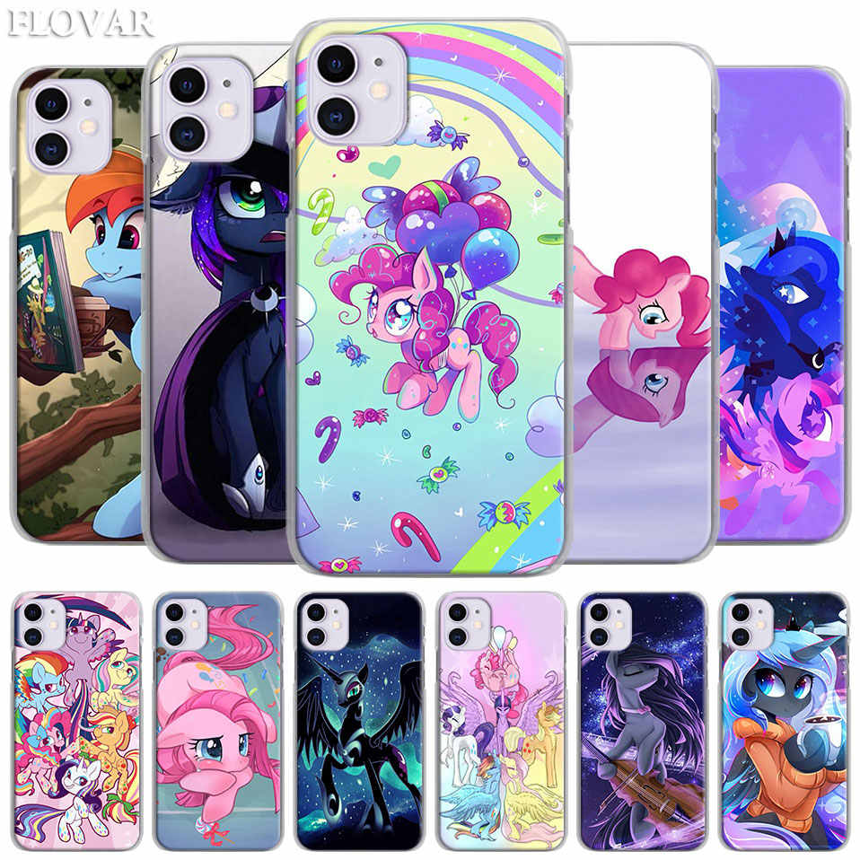 My Little Pony Hard Case for Apple iPhone 11 Pro MAX X XR XS MAX 7 8 Plus 6 6s Plus 5S SE Phone Cover Coque