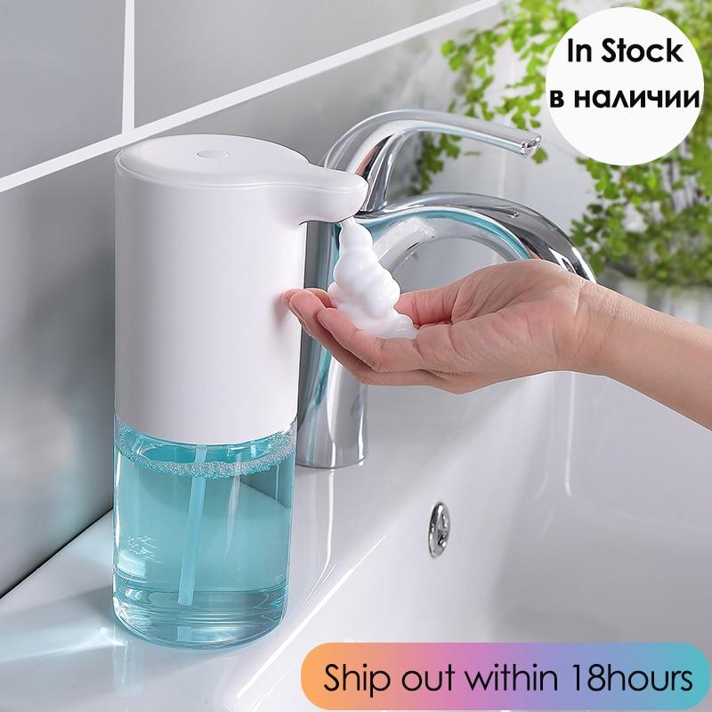 New Automatic Foam Soap Dispenser Touchless Foaming 320ML Capacity Smart Sensor Hand Free Automatic Soap Dispenser For Bathroom