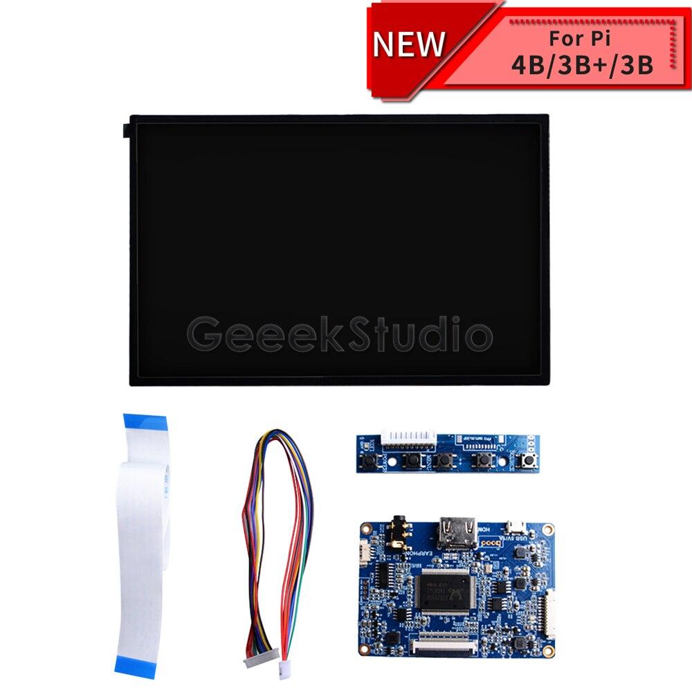 10.1 Inch 1280*800 LCD Screen Display DIY Kit HDMI Monitor TFT LCD 5V 1A For Raspberry Pi 4 B All Models