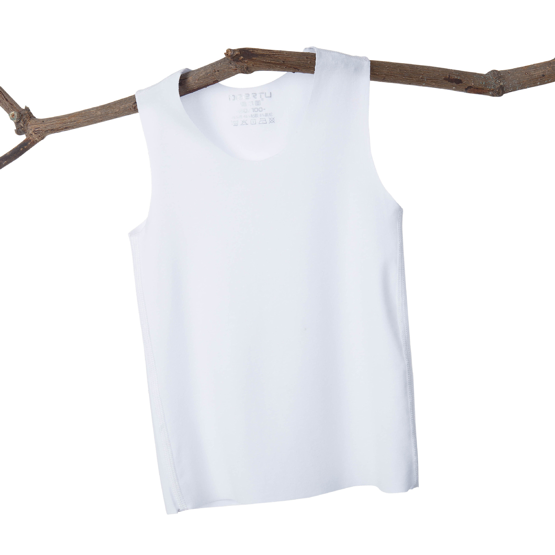 Children Seemless Vest Summer Ultra-Thin Heart Tailor Men And Women Child Baby 1-5-10-Year-Old Infant Sleeveless Small Vest