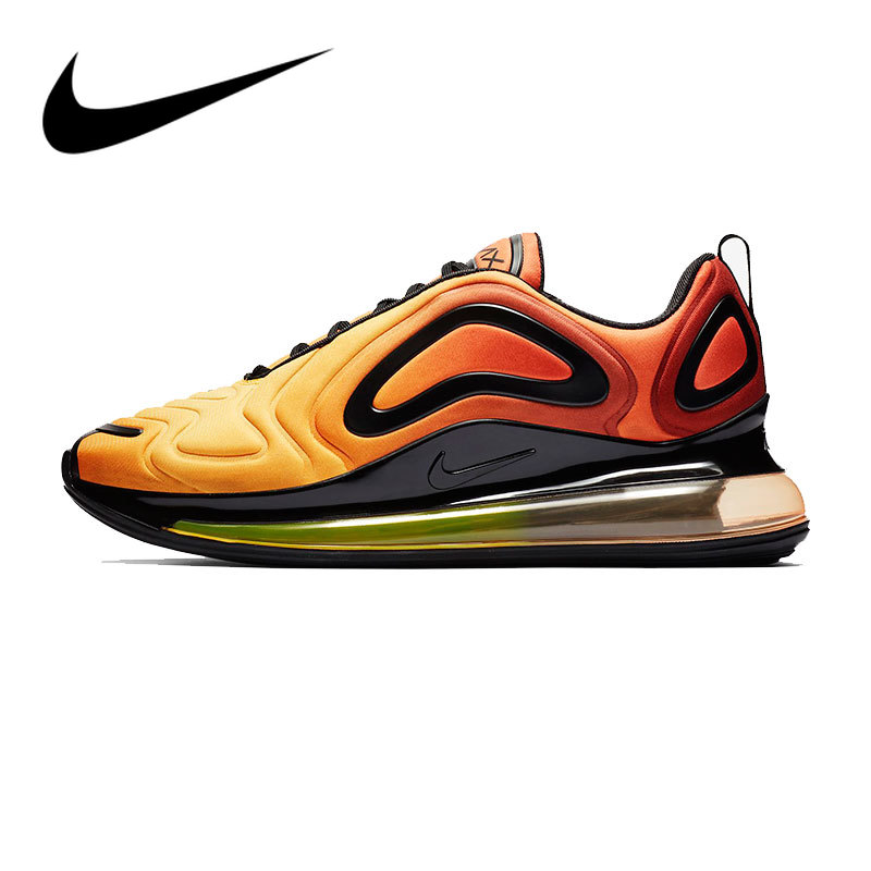 Original Authentic Nike Air Max 720 Mens Running Shoes Comfortable Breathable Sports Sneakers 2019 Spring New Arrival AO2924-800