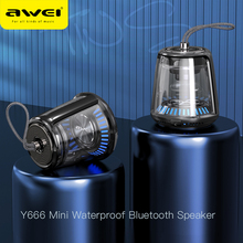 AWEI Y666 Bluetooth Speaker Portable Outdoor Mini Waterproof Music Speaker Stereo Sound HiFi Music Wireless Surround Deep Bass