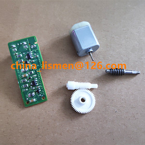 Image 2 - 48 치아 도어 사이드 미러 접이식 모터 폴드 미러 모터 플라스틱 기어 for mazda 5 6 8 자동차 백미러