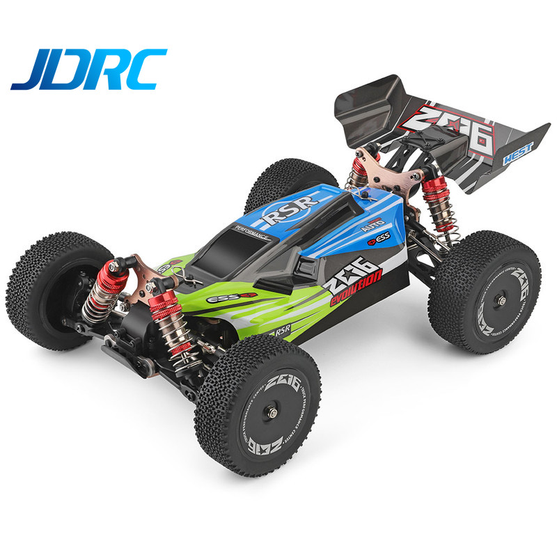 JDRC Wltoys 144001 RTR 2.4GHz RC Car Scale Drift Racing Car 4WD Metal Chassis Shaft Ball Bearing Gear Hydraulic Shock Absober