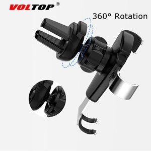 Image 4 - VOLTOP aleación gravedad teléfono soporte accesorios de coche salida de aire Universal teléfono móvil navegación soporte Auto suministros