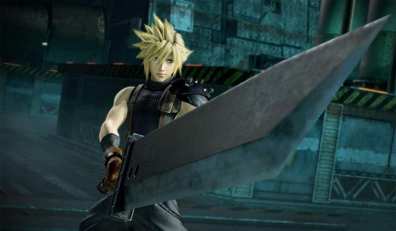 Final Fantasy VII Remake Keychain