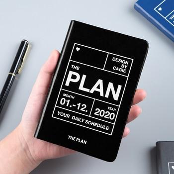 цена 2020 Year Planner Travel A7 Notebook Diary Journal Weekly Monthly Planner Agenda Notebook School Office Supplies онлайн в 2017 году