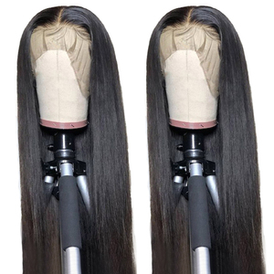 Aircabin Transparent HD Lace Wigs 30 Inch 13x6x1 T Part Lace Brazilian Straight Glueless Remy Human Hair Wigs For Black Women