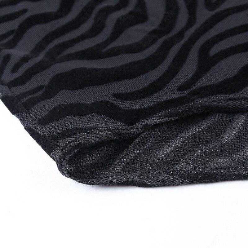 turtleneck mesh bodysuit women09