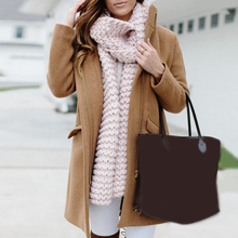 Women Coat Winter Long Sleeve Thick Woolen Warm Zip Up Solid Wool Coats For Ladies Camel Pink Female Outerwear D20