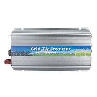1000W Grid Tie Inverter DC 10.5V 30V To AC 180V 260V 50Hz 60Hz Pure Sine Wave MPPT Solar Power Inverter