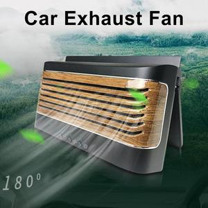 5W Solar Powered Car Auto Cooler Ventilation Fan Automobile Air Vent Exhaust Fan Car Radiator Car Ventilator Cooling Fan(China)