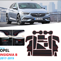 Kaymaz kauçuk kapısı yuvası kupası Mat Opel Insignia B 2017 2018 2019 MK2 OPC GSI Vauxhall Holden commodore kapı oluk Mat