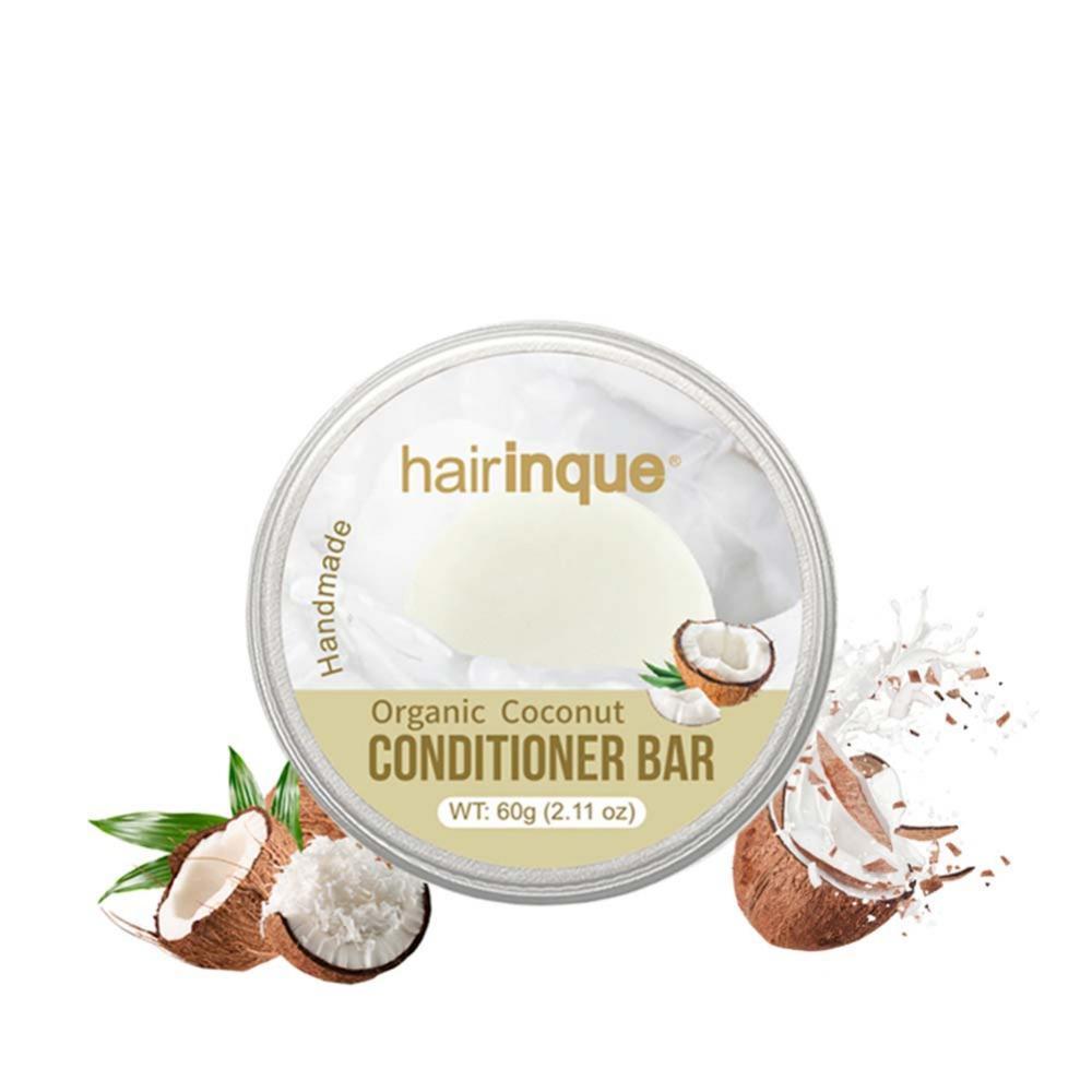 Coconut Handmade Hair Shampoo Magic Soap Pure Natural Dry Shampoo Soap Oil-control Anti-Dandruff Off Hair Care