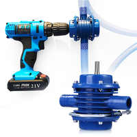 Centrifugal Mini Heavy Duty Self-priming Hand Electric Drill Water Pump Home Garden Centrifugal Water Pump