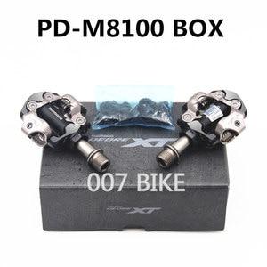 Image 3 - Shimano Deore XT PDM8000 M8020 M8100 M8120 SPD MTB Mountain Bike Clipless Pedals & Cleats PD M8100 PD M8120 Pedals