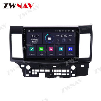 Android 10 4G 64G Car DVD Player GPS Navigation For Mitsubishi Laner 10 2007-2015 Auto Radio Stereo Multimedia Player HeadUnit image