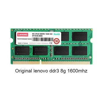Original lenovo For Lenovo ThinkPad  Notebook 8G memory DDR3 1600MHz 1600MHz SODIMM 8GB Memory