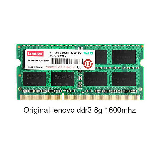 Original lenovo For Lenovo ThinkPad Notebook 8G memory <font><b>DDR3</b></font> 1600MHz 1600MHz <font><b>SODIMM</b></font> <font><b>8GB</b></font> Memory image