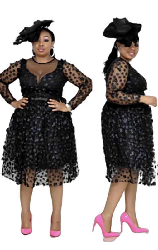 2019 Новое Элегантное модное платье в африканском стиле для женщин