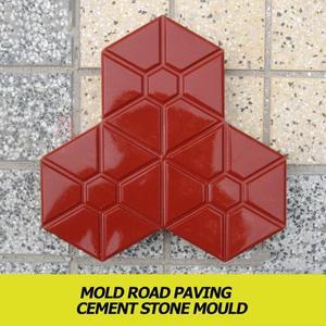 Форма для бетонного тротуара, многоразовая форма для рукоделия, мощения, цемента, кирпича, камня, дороги, формы для сада, ходьбы, дорожек, асф...