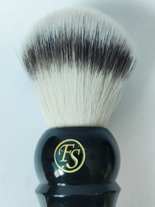 Image 5 - FS 24MM G4 Synthetic Fiber Shaving Brush Cream Color/Black Color Handle+FREE STYPTIC PENCIL+FREE SHIPPING