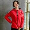 red sport jacket