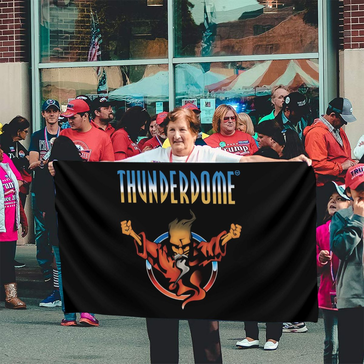 Thunderdome Hardcore Techno And Gabber Mens Black Size Stoxxl Designs Any Logo 2021 Rap Solid Color Flag