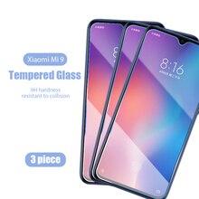 1/2/3 шт.! Прозрачное закаленное стекло 9H для Xiaomi Mi A3 Lite A1 A2, защитные пленки для Xiaomi Mi CC9e CC9 Mix, прозрачное стекло