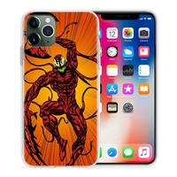 case iphone 5 Carnage Red Venom Case for Apple iphone 11 Pro XS Max XR X 7 8 6 6S Plus 5 5S SE 5C Silicone Luxury Phone Cover Coque Carcasa (4)